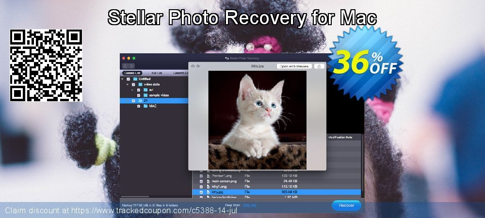 Claim 36% OFF Stellar Photo Recovery for Mac Coupon discount May, 2021