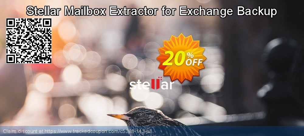 Stellar Mailbox Extractor for Exchange Backup coupon on Lunar New Year offering discount