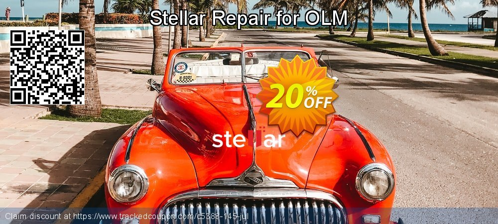 Stellar Repair for OLM coupon on New Year's Day super sale