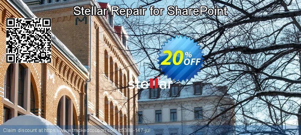 Stellar Repair for SharePoint coupon on Lunar New Year promotions
