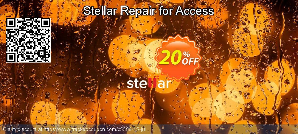 Stellar Repair for Access coupon on Lunar New Year offer