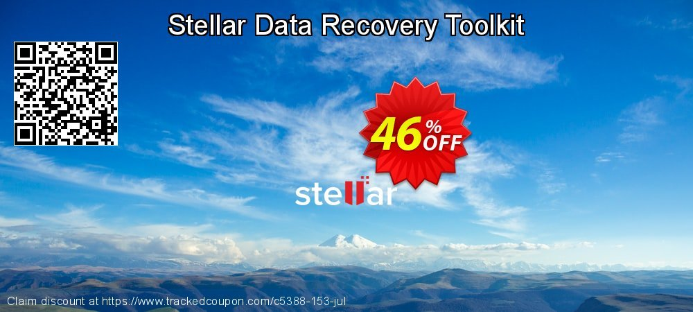 Stellar Data Recovery Toolkit coupon on New Year's Day offering sales