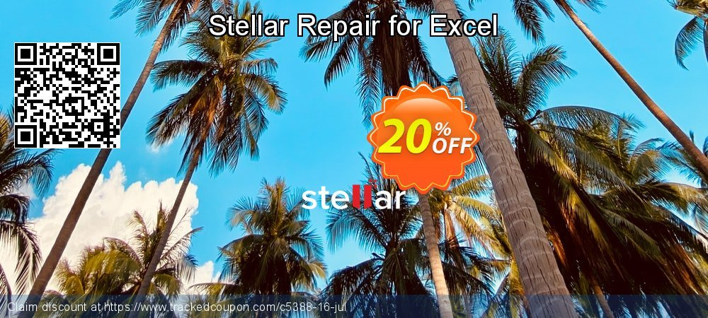 Stellar Repair for Excel coupon on New Year discount