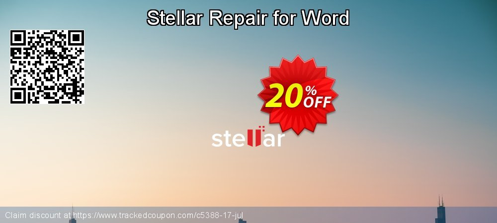 Stellar Repair for Word coupon on New Year's Day offering discount