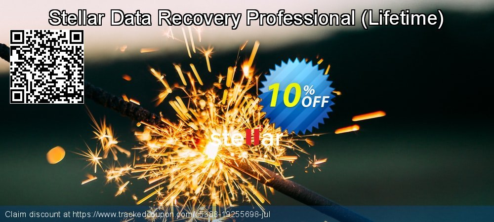 Claim 10% OFF Stellar Data Recovery Professional - Lifetime Coupon discount August, 2021