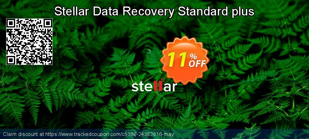 Stellar Data Recovery Windows Standard+ coupon on Back-to-School event sales