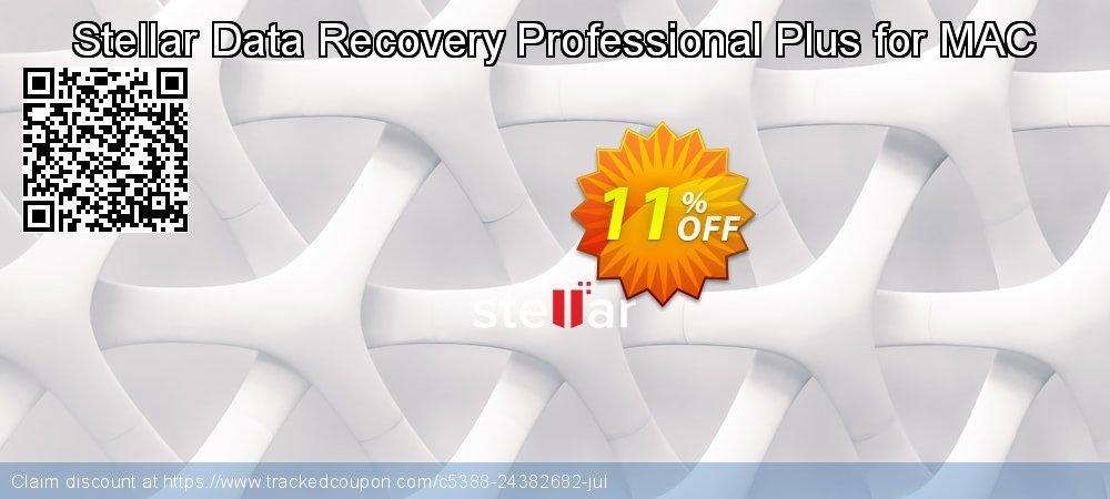 Claim 11% OFF Stellar Data Recovery Professional Plus for MAC Coupon discount August, 2021