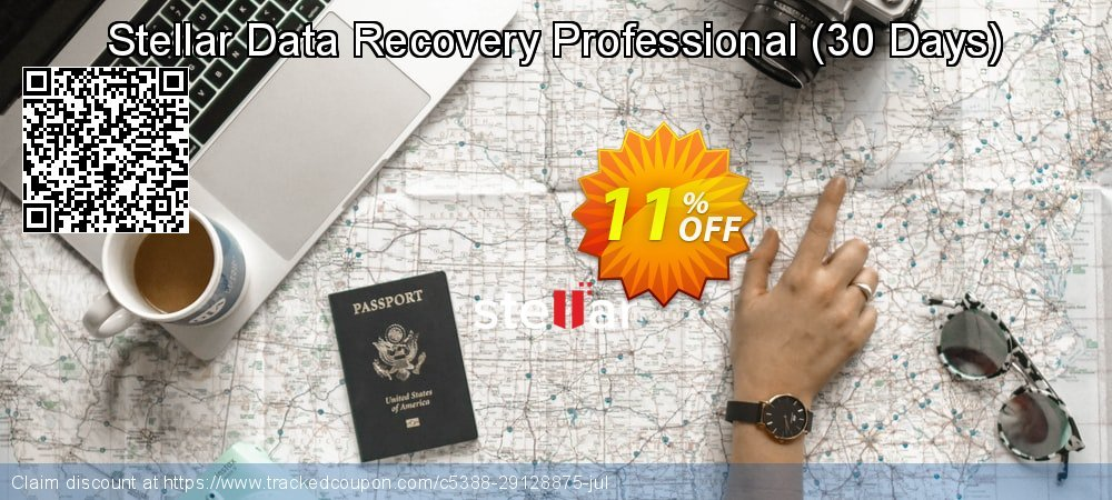 Claim 11% OFF Stellar Data Recovery Professional - 30 Days Coupon discount August, 2021