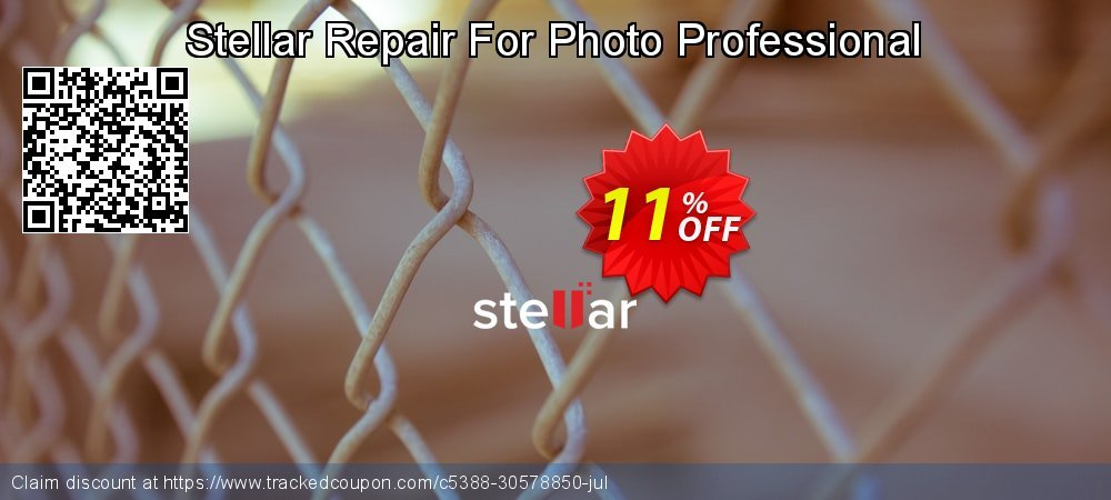 Get 10% OFF Stellar Repair For Photo Professional offering sales