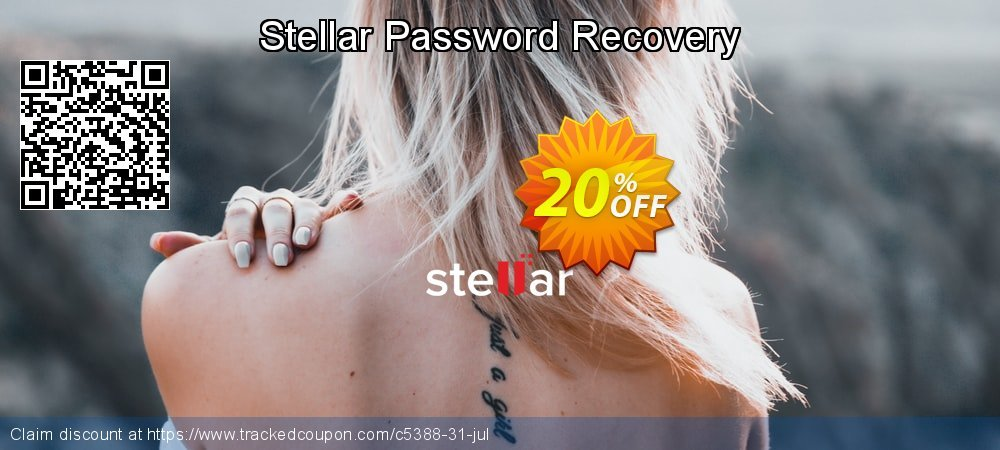 Stellar Password Recovery coupon on Lunar New Year sales