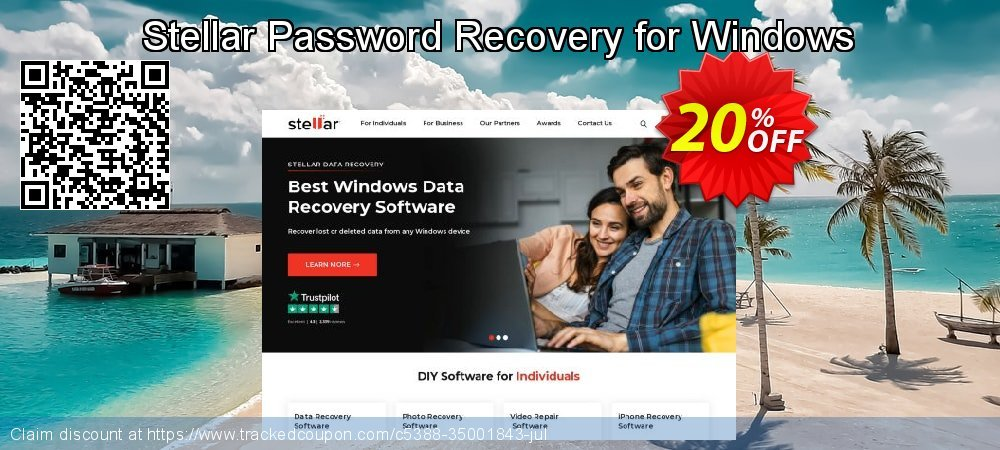Stellar Password Recovery for Windows coupon on Spring offering sales