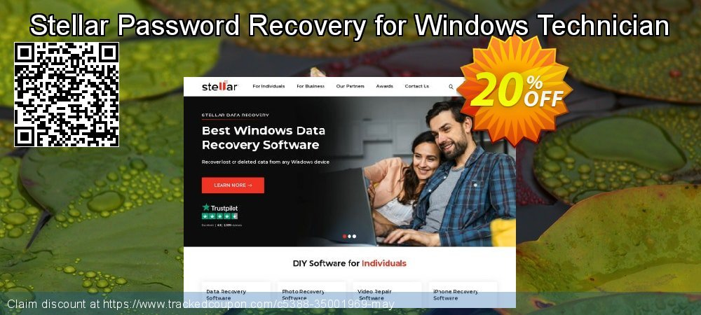 Claim 20% OFF Stellar Password Recovery for Windows Technician Coupon discount April, 2021