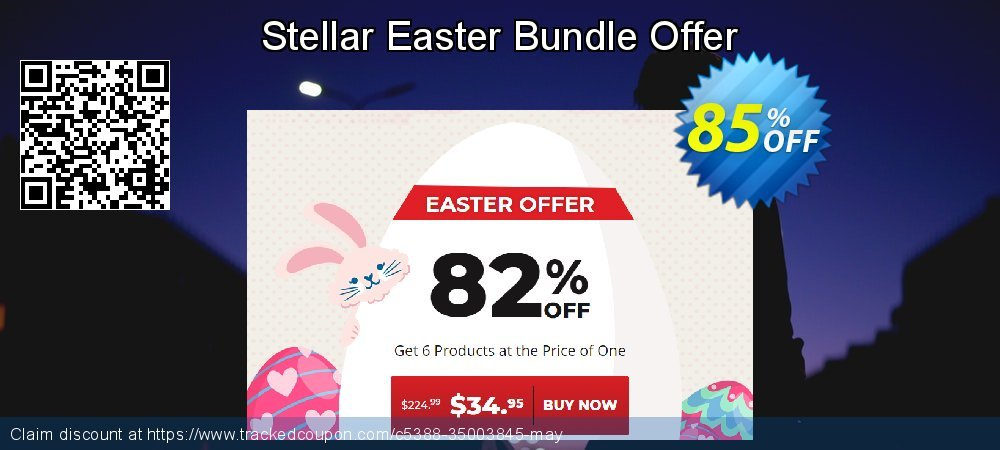 Claim 85% OFF Stellar Easter Bundle Offer Coupon discount April, 2021