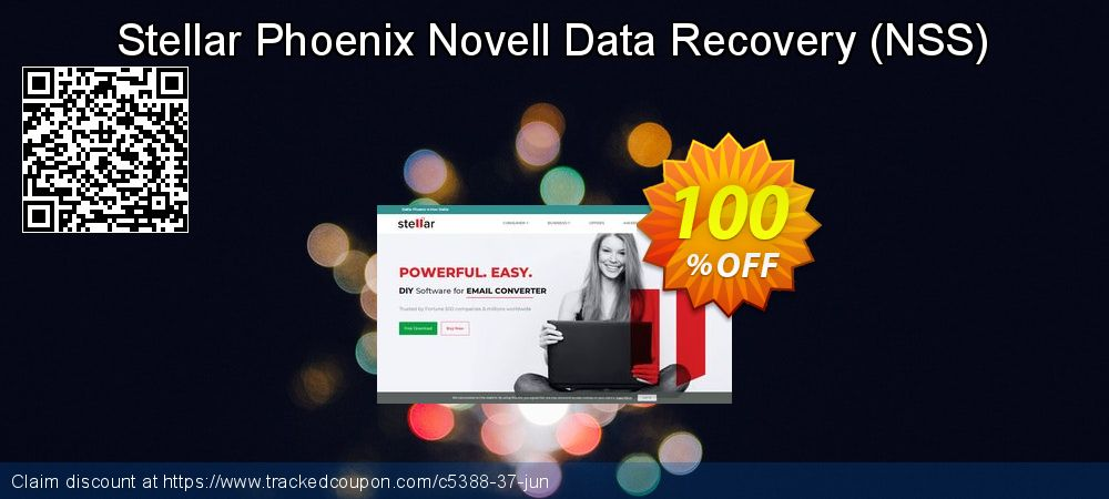 Claim 100% OFF Stellar Phoenix Novell Data Recovery (NSS) Coupon discount May, 2019