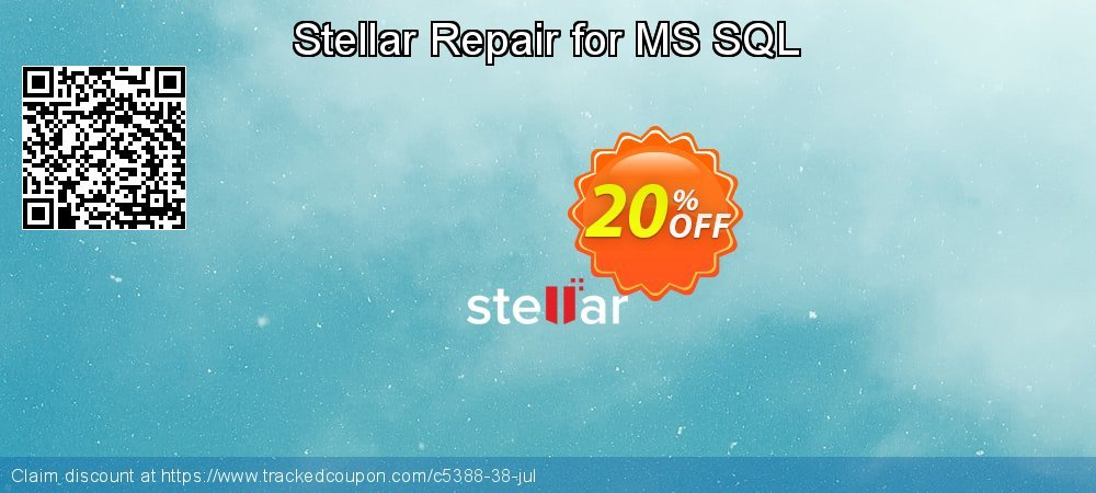 Stellar Repair for MS SQL coupon on Happy New Year discounts