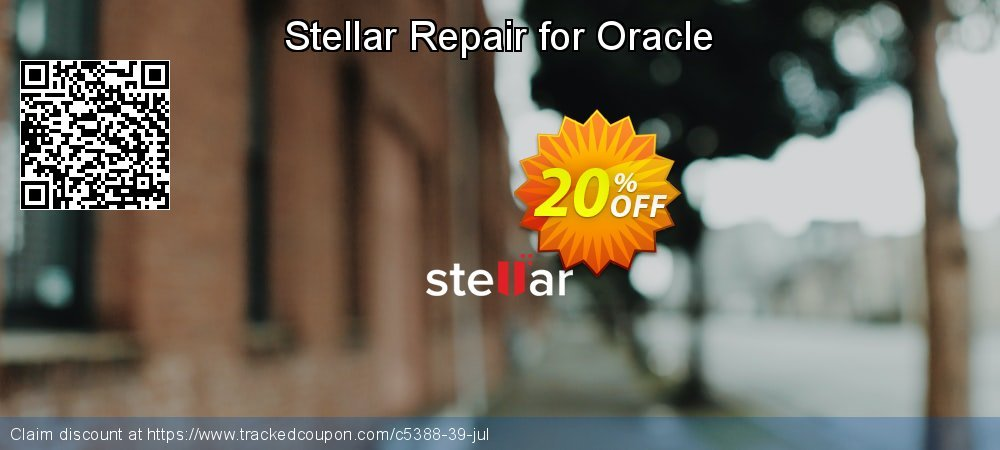 Stellar Repair for Oracle coupon on Halloween promotions