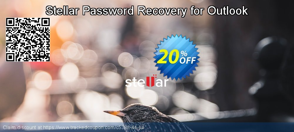 Claim 20% OFF Stellar Phoenix Outlook Password Recovery Coupon discount August, 2020