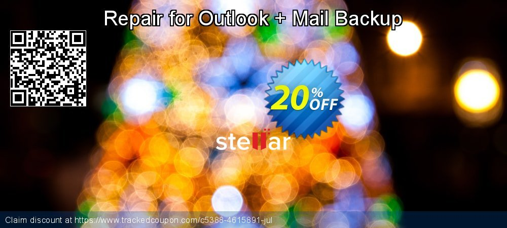 Repair for Outlook + Mail Backup coupon on Lunar New Year discount