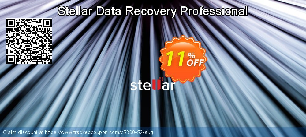 Stellar Data Recovery Professional coupon on Exclusive Student discount deals