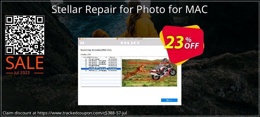 Get 20% OFF Stellar Repair for Photo for MAC discount