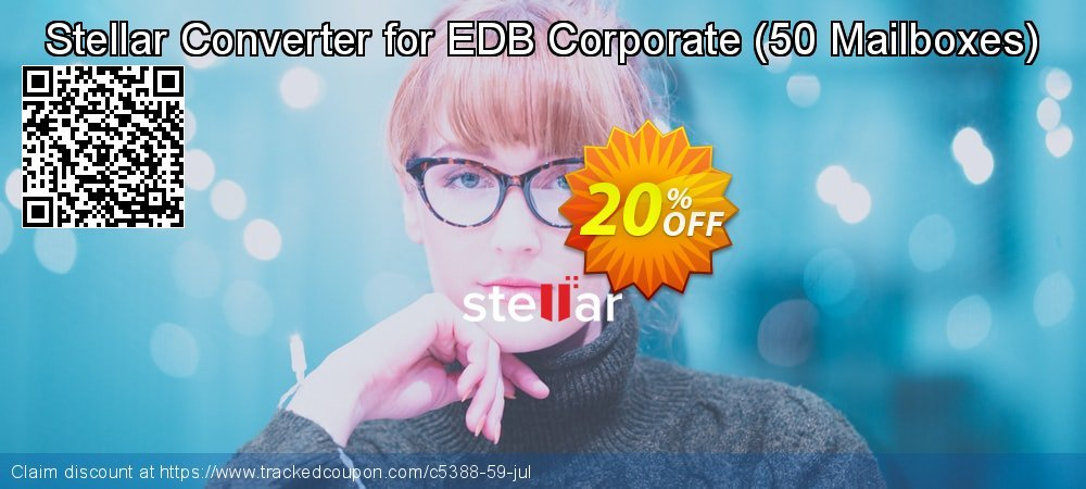 Stellar Converter for EDB Corporate - 50 Mailboxes  coupon on Lunar New Year deals