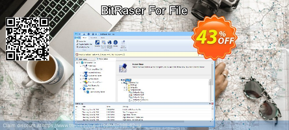 BitRaser For File coupon on Happy New Year offering discount
