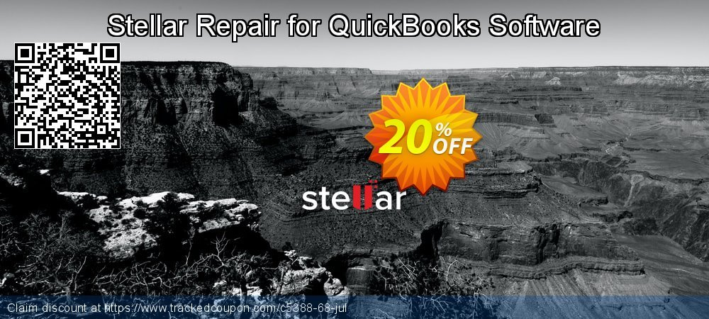 Stellar Repair for QuickBooks Software coupon on Halloween deals