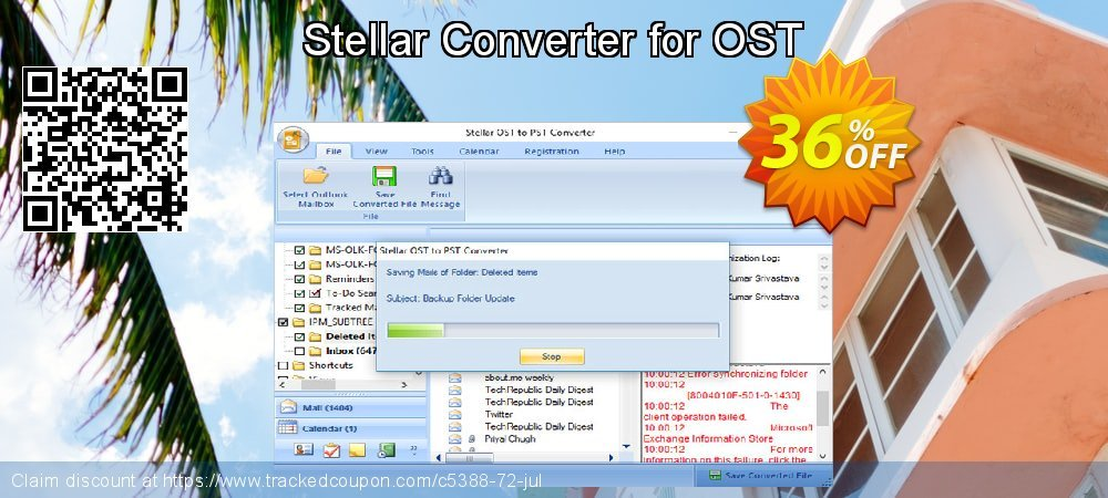 Stellar Converter for OST coupon on New Year offering sales