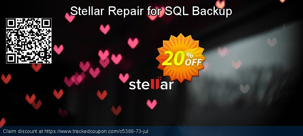 Stellar Repair for SQL Backup coupon on Halloween super sale
