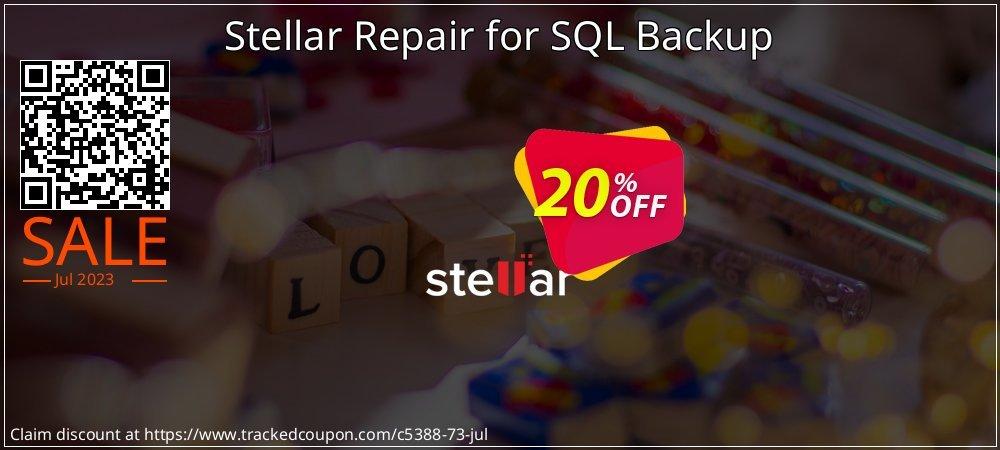 Claim 20% OFF Stellar Repair for SQL Backup Coupon discount October, 2020