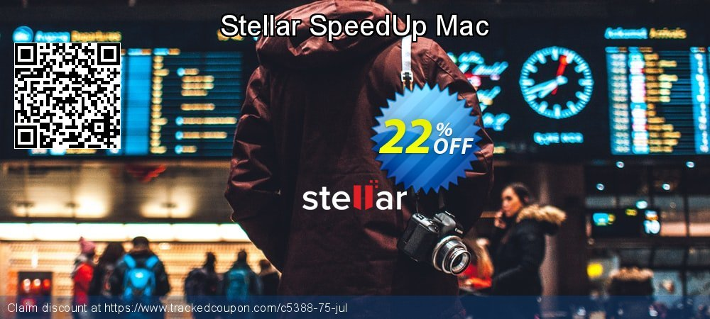 Stellar SpeedUp Mac coupon on Halloween promotions