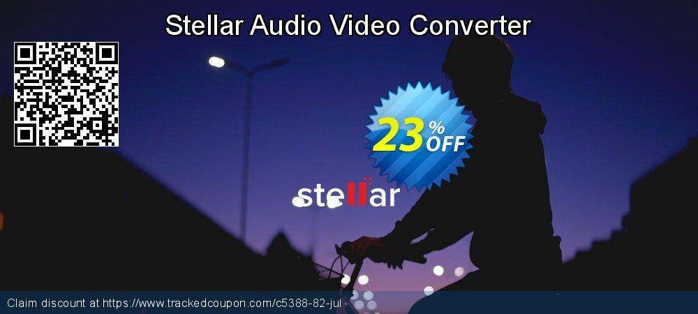 Stellar Audio Video Converter coupon on Happy New Year super sale