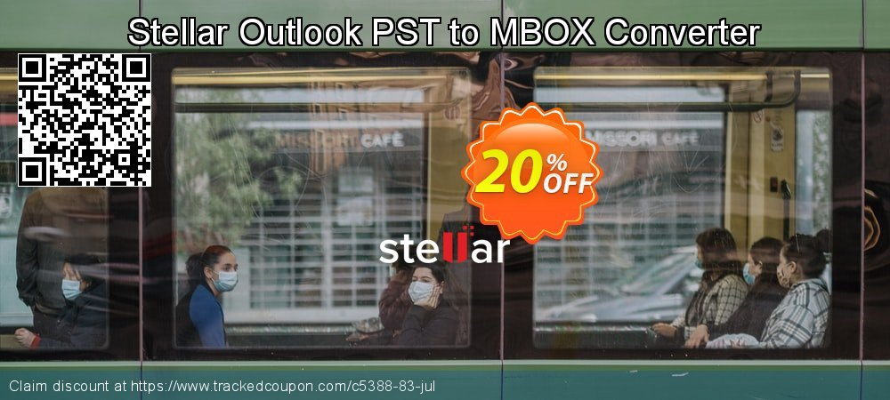 Stellar Outlook PST to MBOX Converter coupon on Halloween discounts