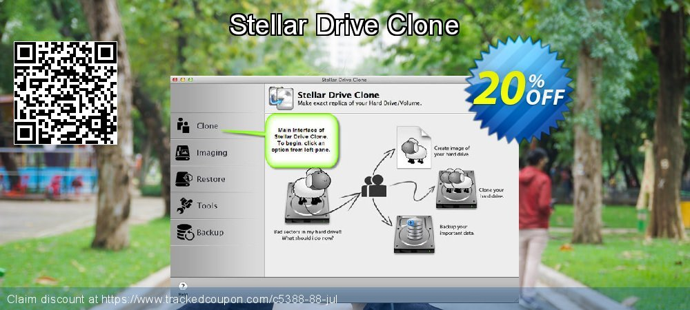 Stellar Drive Clone coupon on Halloween discount
