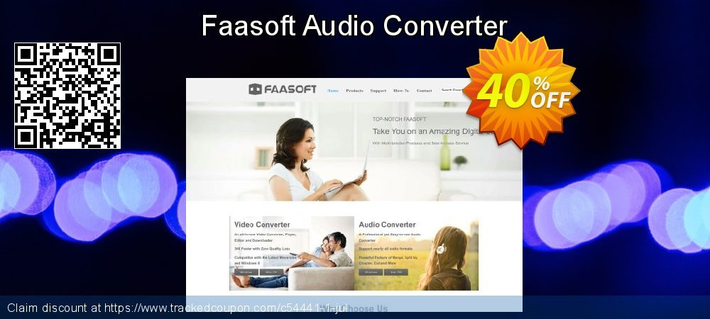 Get 30% OFF Faasoft Audio Converter offering sales