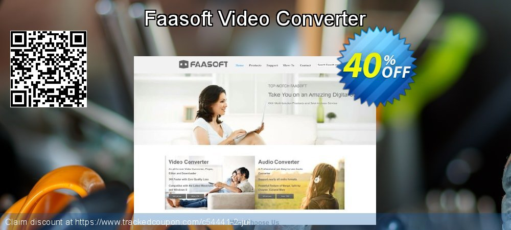 Faasoft Video Converter coupon on X'mas discount