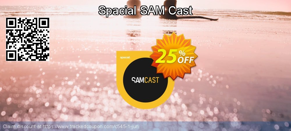 Spacial SAM Cast coupon on Mothers Day sales