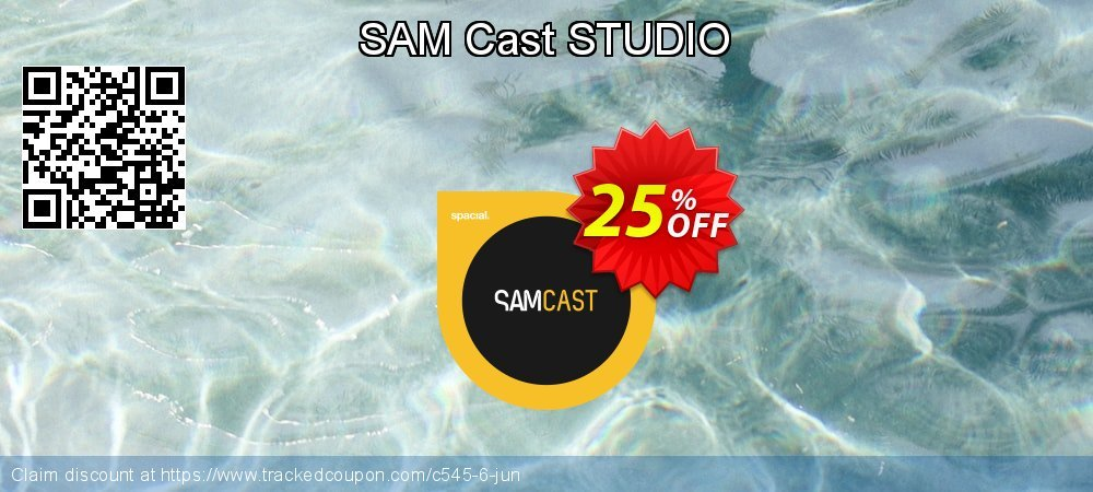 SAM Cast STUDIO coupon on Mom Day offering sales