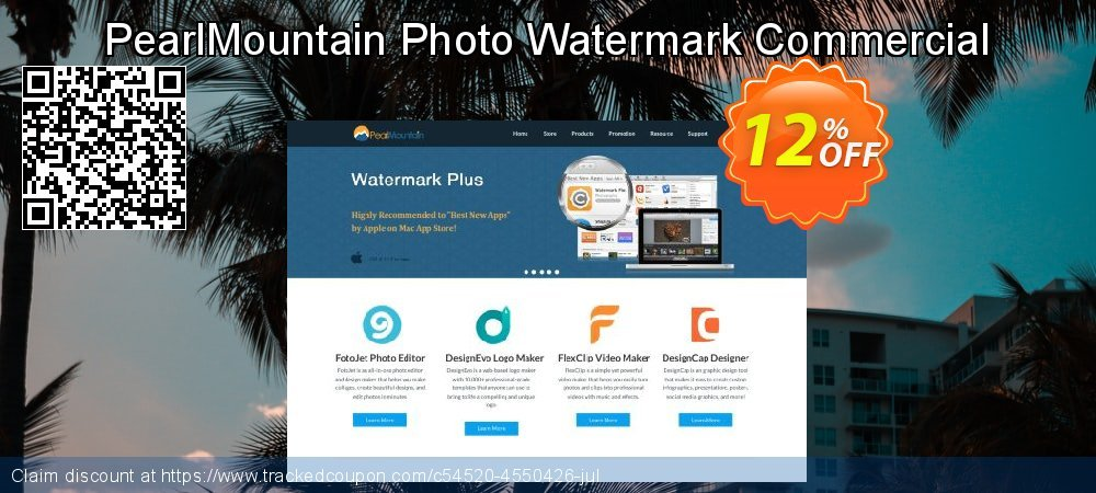 Get 10% OFF PearlMountain Photo Watermark Commercial promo