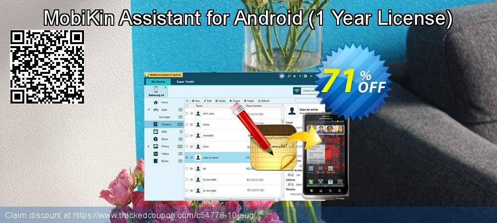 MobiKin Assistant for Android - 1 Year License  coupon on Eid al-Adha deals