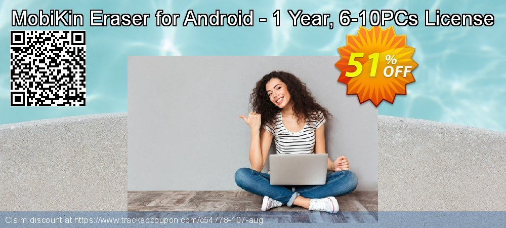 MobiKin Eraser for Android - 1 Year, 6-10PCs License coupon on Int. Workers' Day super sale