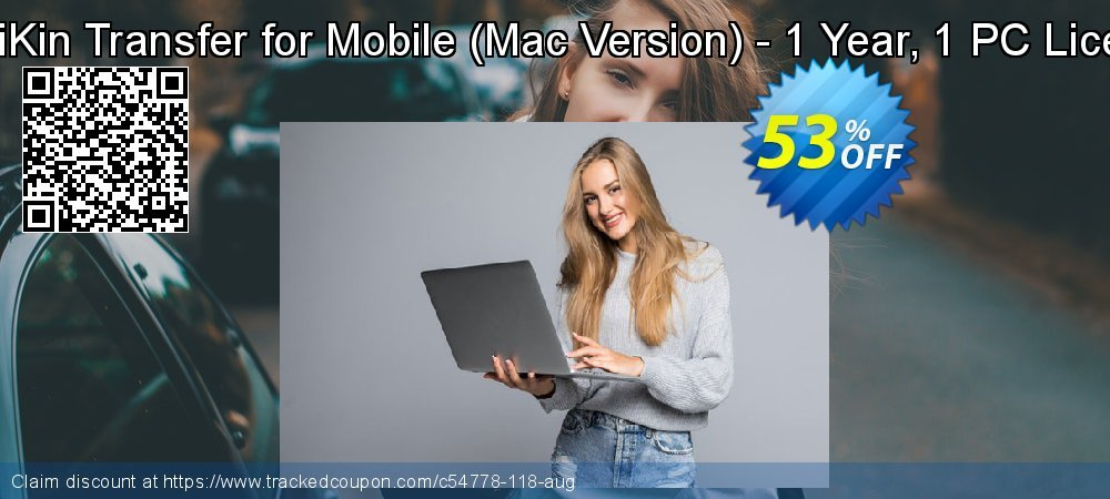 Get 50% OFF MobiKin Transfer for Mobile (Mac Version) - 1 Year, 1 PC License offer
