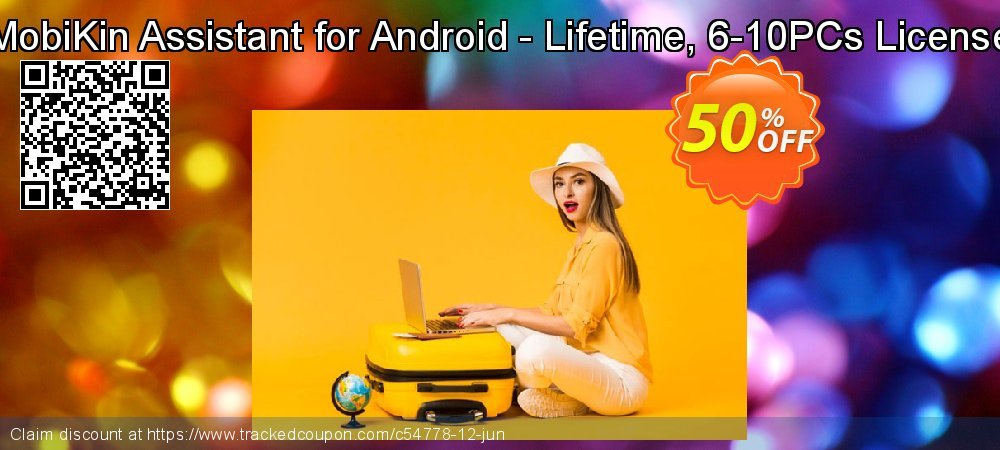 MobiKin Assistant for Android - Lifetime, 6-10PCs License coupon on World Population Day discount