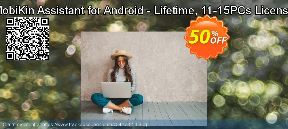 MobiKin Assistant for Android - Lifetime, 11-15PCs License coupon on Nude Day offering discount