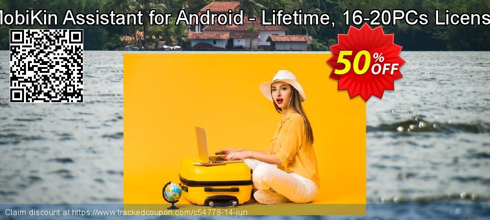 MobiKin Assistant for Android - Lifetime, 16-20PCs License coupon on Tattoo Day offering sales