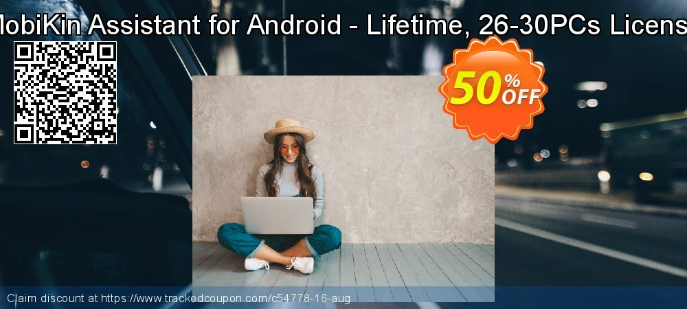 MobiKin Assistant for Android - Lifetime, 26-30PCs License coupon on Parents' Day discounts