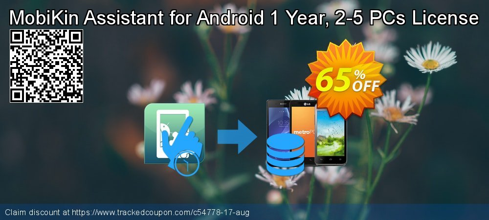 MobiKin Assistant for Android 1 Year, 2-5 PCs License coupon on Summer promotions