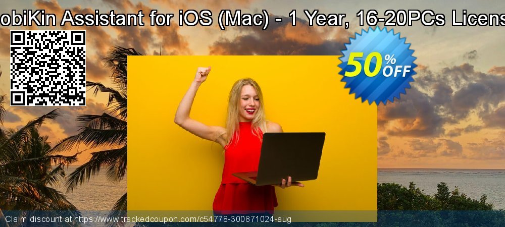 MobiKin Assistant for iOS - Mac - 1 Year, 16-20PCs License coupon on Nude Day discounts