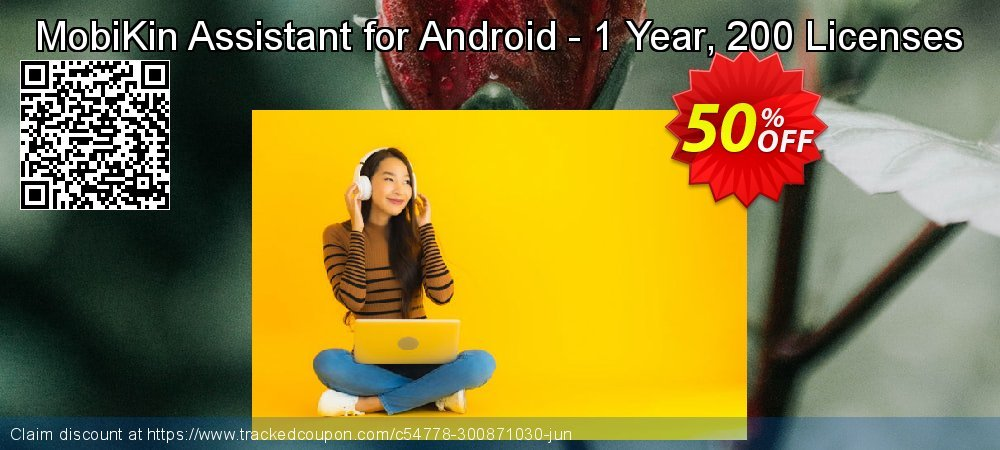 MobiKin Assistant for Android - 1 Year, 200 Licenses coupon on American Independence Day offering discount