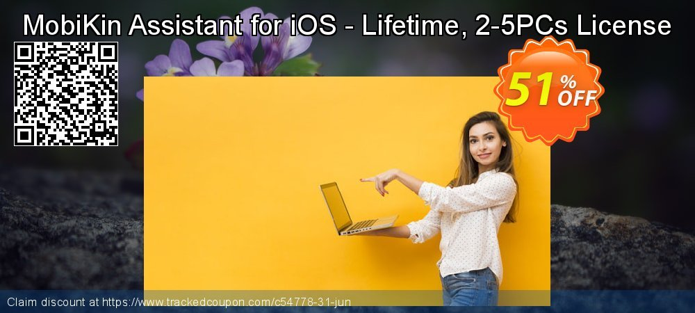 MobiKin Assistant for iOS - Lifetime, 2-5PCs License coupon on National Bikini Day offering discount